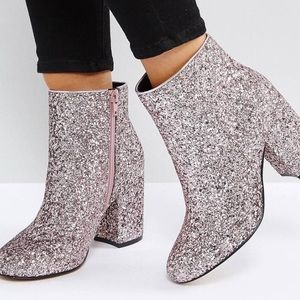 ASOS RAQUEL Wide Fit Ankle Boots